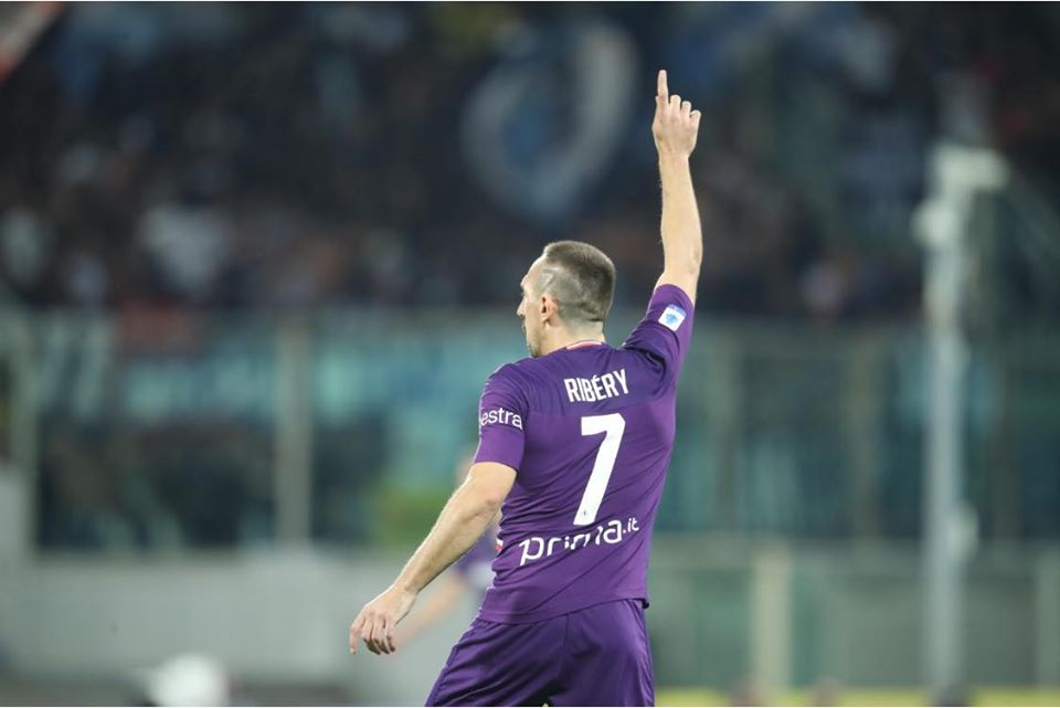 Ribery - Foto Facebook Fiorentina.it